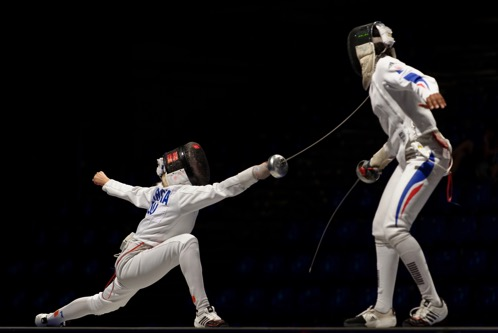 Romania v France EFS 2013 Fencing WCH t163933
