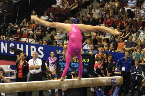 Nastia Liukin Nationals