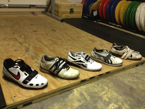 Wide Footed Weightlifting Shoes