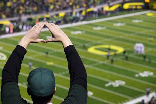 Oregon O gestures