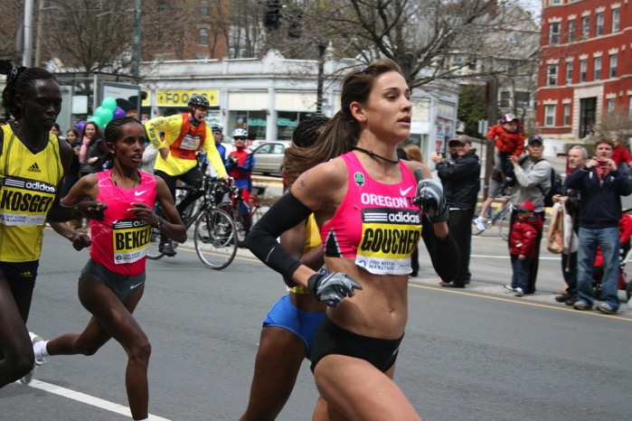 Boston Marathon 2009 Leading Women
