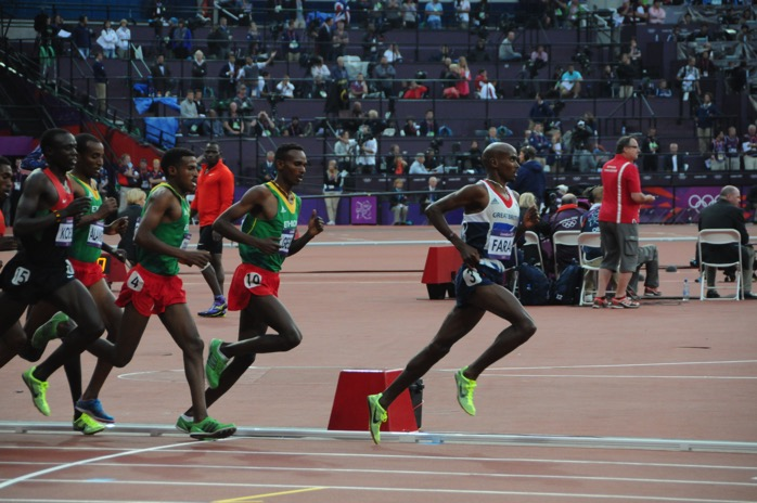 Mo Farah 5000m Olympic Final