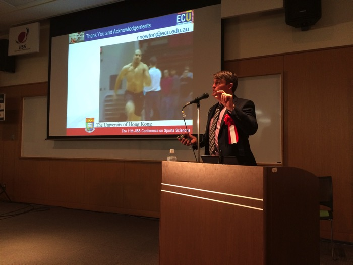 #223 【カンファレンス報告】特別講演 by Dr. Robert Newton@JISSスポーツ科学会議