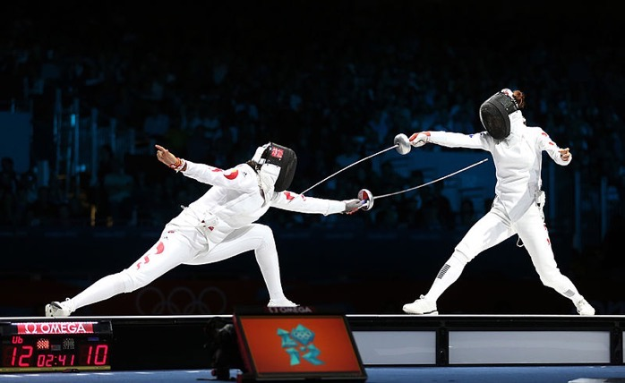 800px Korea London WomenTeam Fencing 01 7730602958