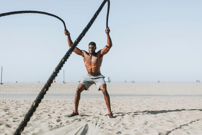 African descent athlete beach 1406356